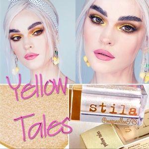 Stila Liquid Eyeshadow, Yellow Tales